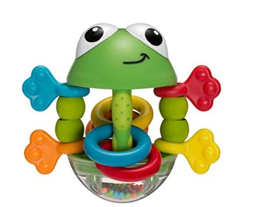 add - on item $2.83 for Infantino Flip Flop Frog Rattle