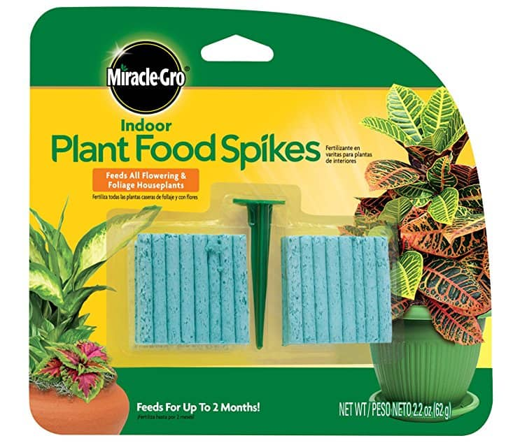 Miracle-Gro Indoor Plant Food, 48-Spikes for $1.57