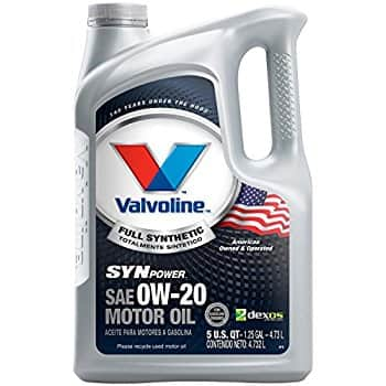 add on item Valvoline 0W-20 Full Synthetic High Mileage Motor Oil - 1qt (852400) for $6.97