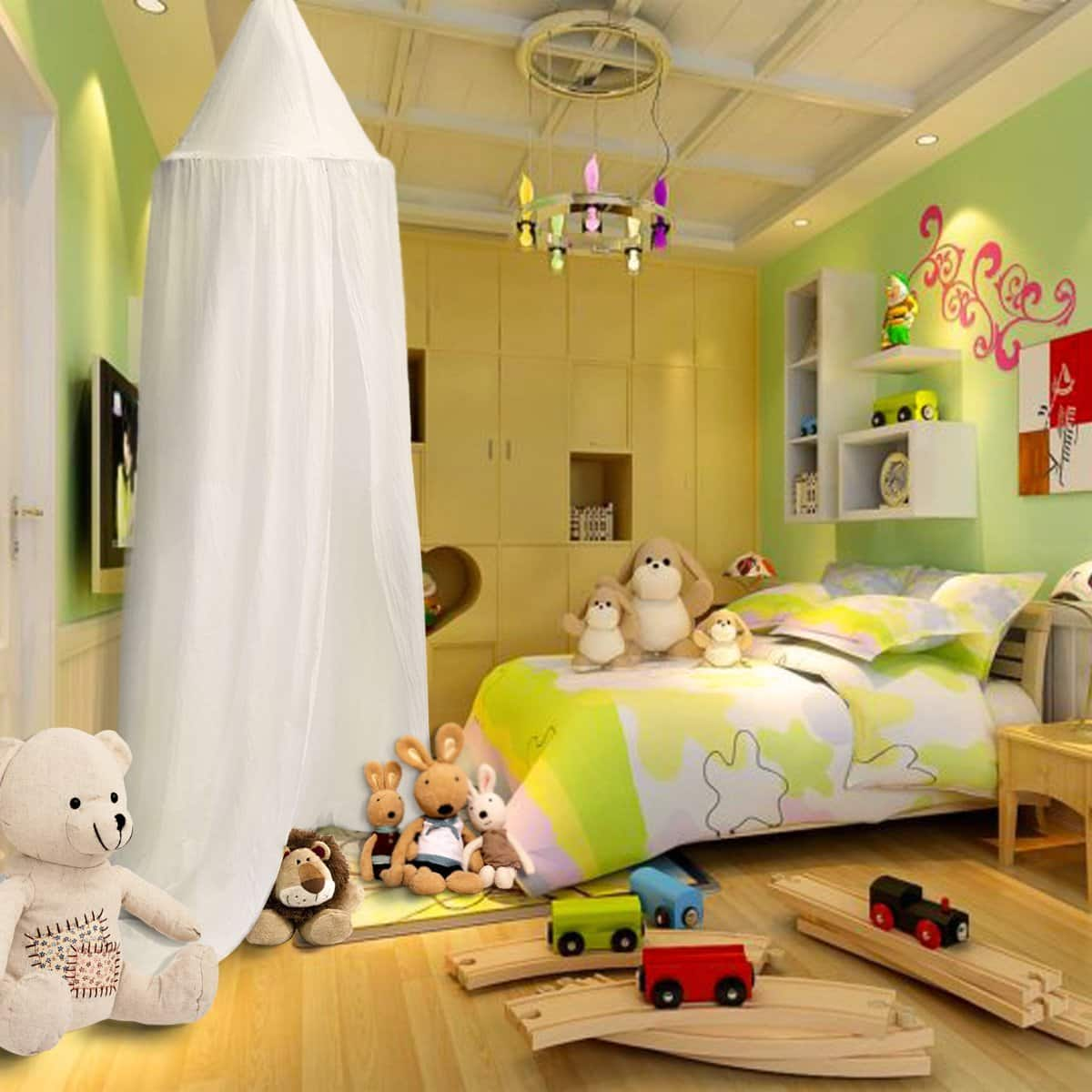 56% offer Cotton Canvas Dome Bed Canopy $15.84