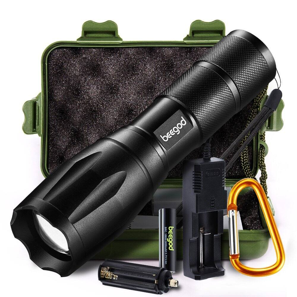 50% off Tactical Led Flashlight for $8.99