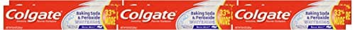 6-Pack 8oz Colgate Baking Soda Peroxide Whitening Toothpaste $7.58 w/ SS FS