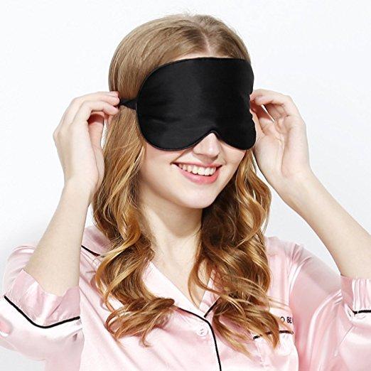 Sleep Mask Set ( Silk Eye Mask + Giftbox Packing + Earplug ) $ 5.5 (50% off) @ Amazon + Free  S/H $5.5