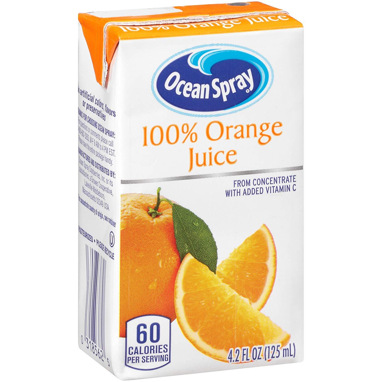 40-Count 4.2oz Ocean Spray Juice Box (Orange) $9.85 w/ S&S + Free S&H