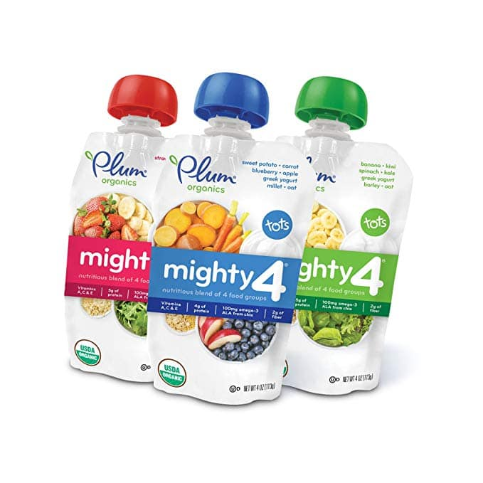 Save 30% + Extra 5% Off + FS Plum Organic Baby Food @ Amazon.com