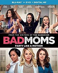 Bad Moms Blu Ray $9