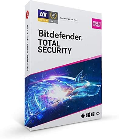 Bitdefender Total Security 2021 (5 Devices, PC/Mac/iOS/Android): 2-Yr $34.99
