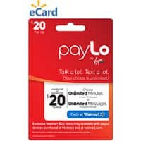 Walmart Deal: New Virgin Mobile paylo plan at walmart only - $20 for either unlimited minutes OR unlimited text messages