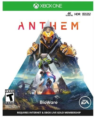 Target Buy 2 Get 1 Free Select Video Games - Anthem Included - All Platforms