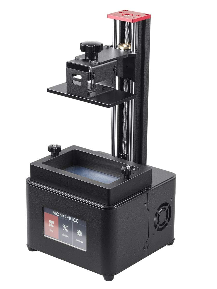 Monoprice SLA 3D printers 239.99 or Deluxe for 299.99