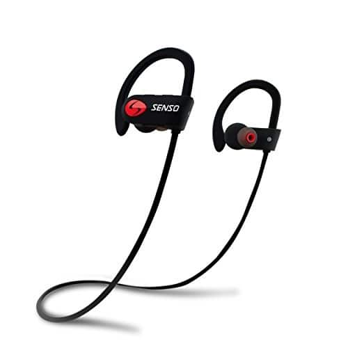 SENSO Bluetooth Headphones, Best Wireless Sports Earphones w/ Mic IPX7 Waterproof HD Stereo Sweatproof Earbuds for $31.42 - Offer expires in 2 hours