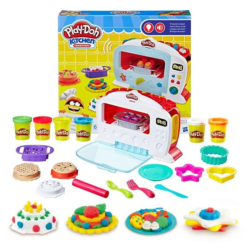 ed049c2e2448 Play-Doh Kitchen Creations Magical Oven for  16.49  Amazon ...