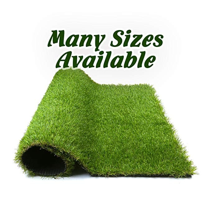 Artificial Grass Synthetic Thick Lawn Pet Turf for Dogs (various sizes) from $17.20
