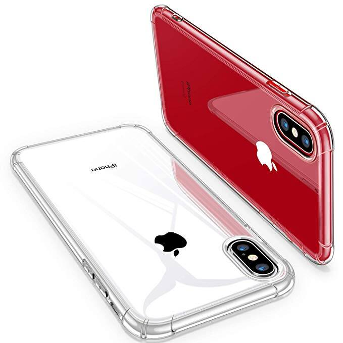 CANSHN iPhone Clear Cases for iPhone 7/8, 7/8 Plus, Xs/X, Xs Max from $2.52 + FSSS