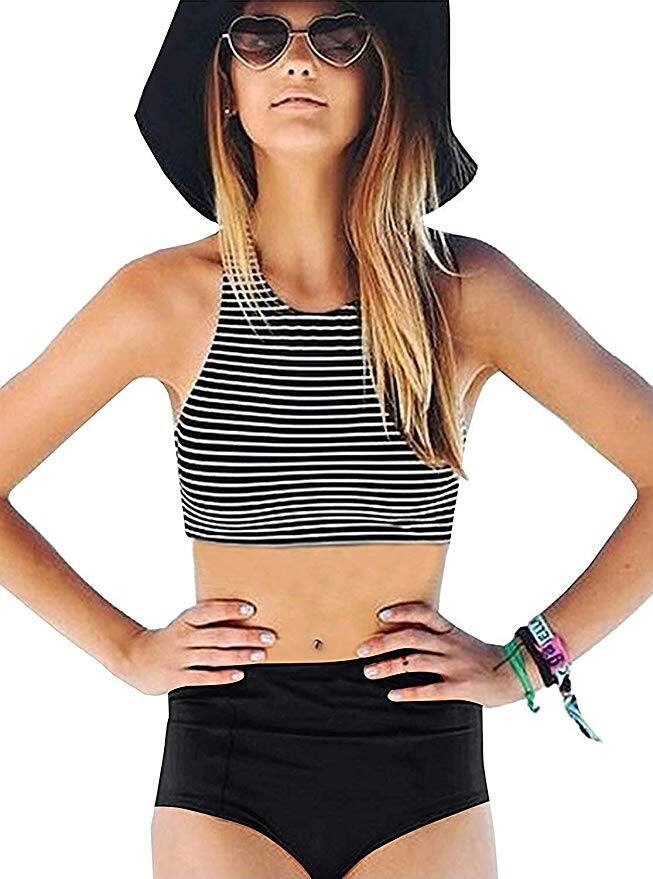 GEEK LIGHTING Women 2 Piece Swimsuits (Various colors and sizes) for $16.09 + FSSS