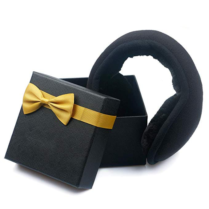 Metog Unisex Foldable Winter EarMuffs with Gift Box $7.79 at Amazon