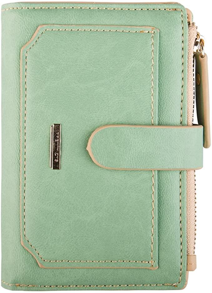 INDRESSME Mini Vintage Card Holder Compact Wallet Cases for Women $6.99 + FSSS