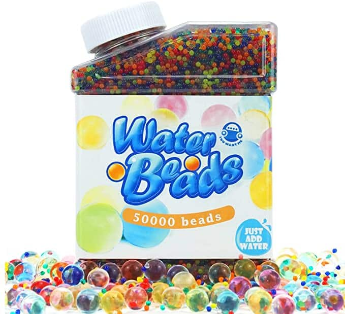 50000 Rainbow Water Beads Pack for Kids Tactile Sensory Toys $8.25 + FS with Prime