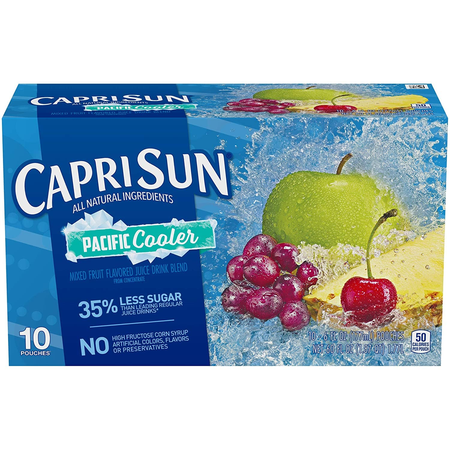 Capri Sun Pacific Cooler Ready-to-Drink Juice (10 Pouches) $1.66 + FSSS