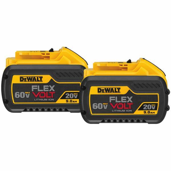 2 Pack Genuine DeWalt DCB609-2 20/60V MAX Flexvolt Li-Ion Battery $229.99 + Free Shipping