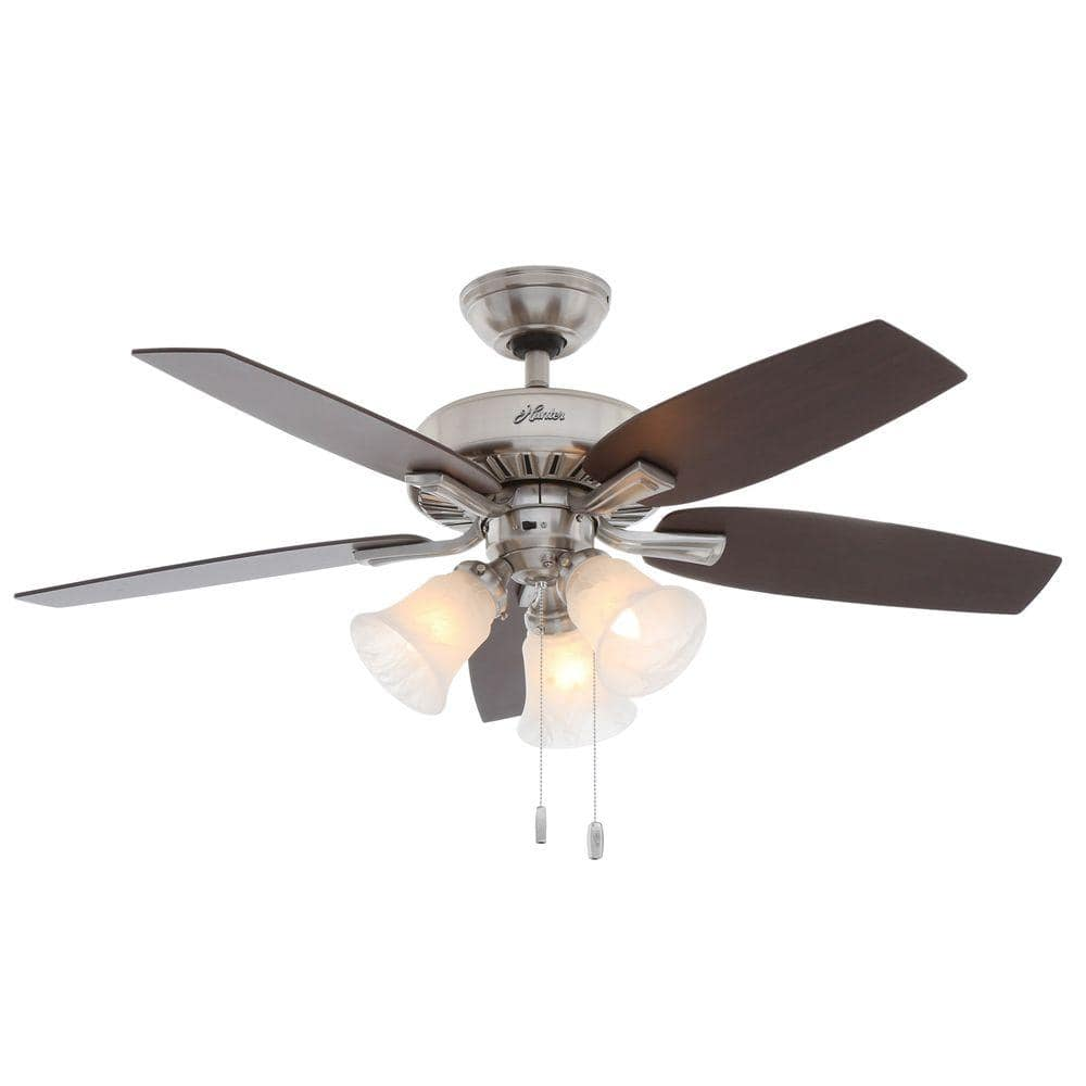 "Hunter Atkinson 46"" ceiling fan $72 at home depot"