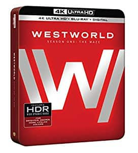 Westworld: The Complete First Season 4K UltraHD HDR + Blu-ray Pre-order via Amazon $42.31