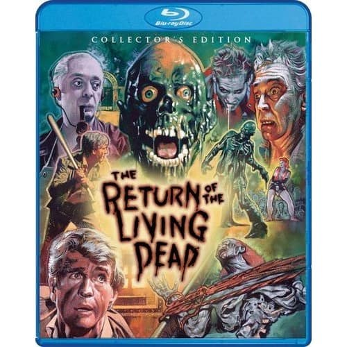 The Return of the Living Dead - Shout! Factory Collector's Edition Blu-ray 2 Disc [1985] $13.99 with Best Buy in-store pickup