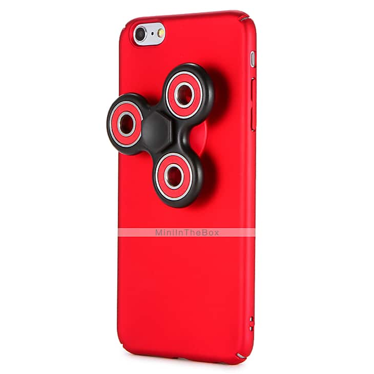 Fidget Spinner Case For iPhone 7 7 Plus 6s 6 Plus Removable Hand Spinner