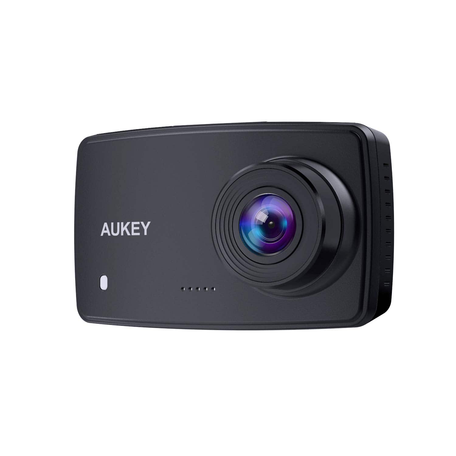 AUKEY Dash Cam, 1080p Dash Camera for Cars with 6-Lane Lens, 2.7 Inch LCD, Motion Sensor - $24 - Amazon FS