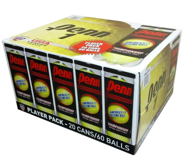 20-pack Penn Championship Extra Duty tennis balls $29.99 at Costco stores (in-store only) valid 6/19/20 through 7/3/20