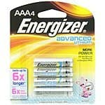 BestBuy.com Energizer Lithium Batteries Clearance - 60% Off (Online Only)