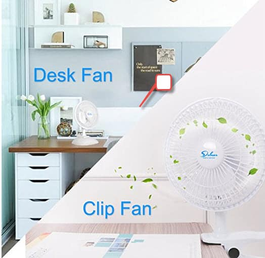 """Simple Deluxe 6"""" 2-Speed Adjustable Clip-On-Fan now 53% off on Amazon.com $14.1"""