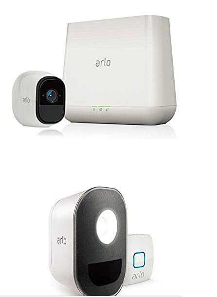 Free Arlo Light Security Kit ($150 value) with purchase of Arlo Pro Security Camera Kit, now $191.48