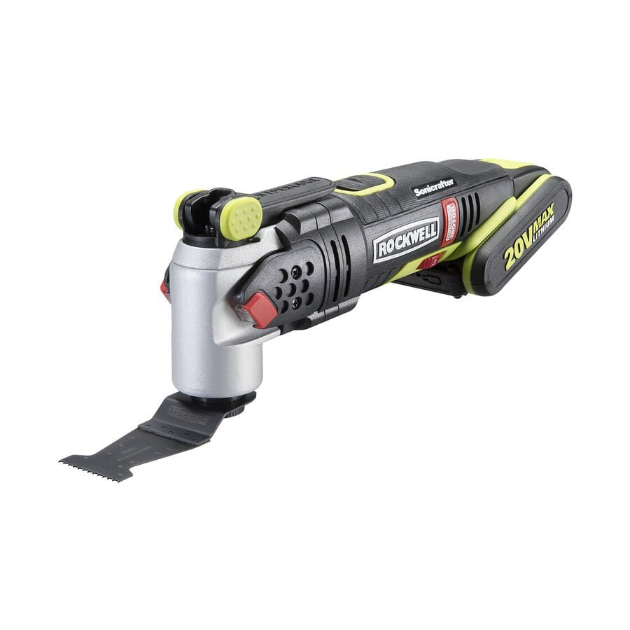 YMMV $32.25 @ Lowes Rockwell SoniCrafter-Piece Cordless 2-Amp 20-Volt Max Variable Speed Oscillating Multi-Tool Kit