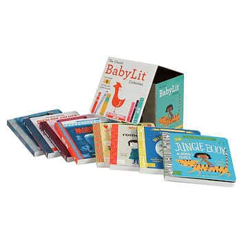 The Classic BabyLit Collection: 8 Board Book Box Set - $22 at Costco.com