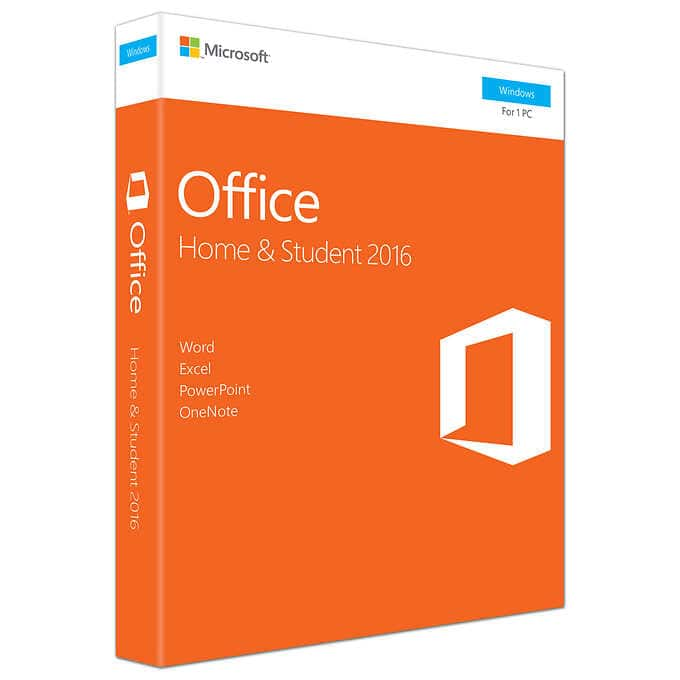 Costco: Microsoft Office Home and Student 2016, Product Key Card - $95
