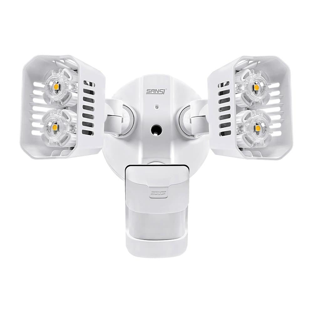 SANSI-C2440-GW-18500 LED Security Light, 18w 1800lm, White $29 at Amazon FS with Prime
