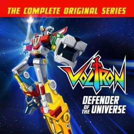 Voltron: Defender of the Universe Complete Series Digital ITunes 24.99 $24.99