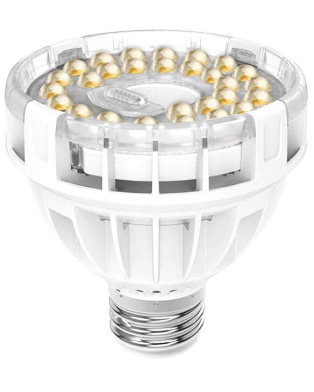 SANSI Daylight LED Grow Light Bulb, 10W Full Spectrum Sunlight LED Grow Lights for Indoor Plants Vegetables and Seedlings $9.98