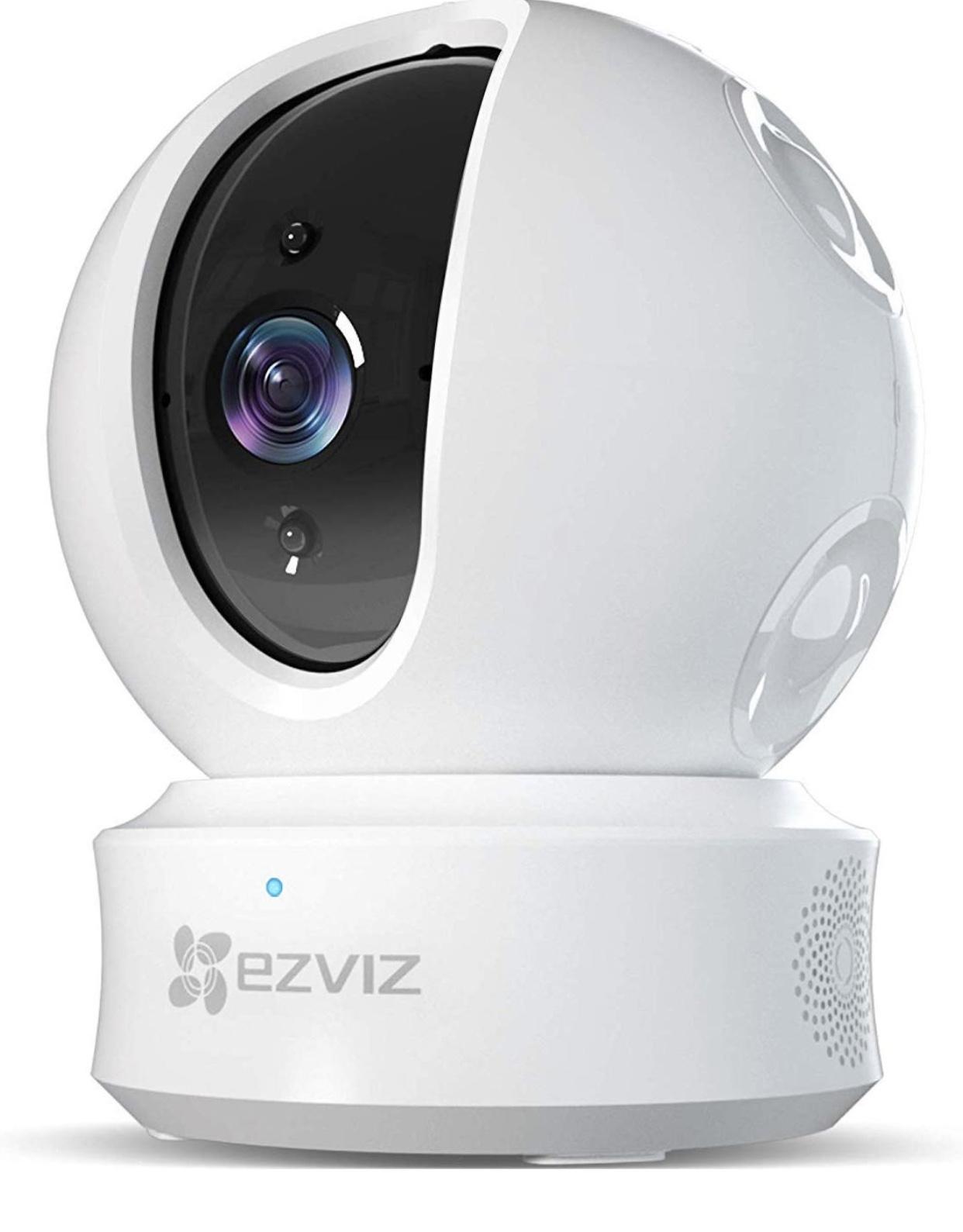 EZVIZ Pan/Tilt/Zoom 1080p IP Dome Camera with Alexa $34.99
