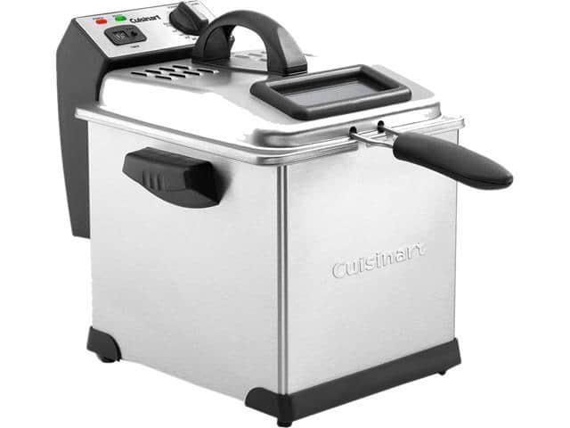 Newegg has Cuisinart CDF-170 Deep Fryer, 3.4 Quart, Stainless Steel for $35.99 w/Free Shipping