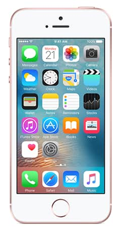 simple mobile iPhone SE 32 gb @ $103.20 with coupon F&h
