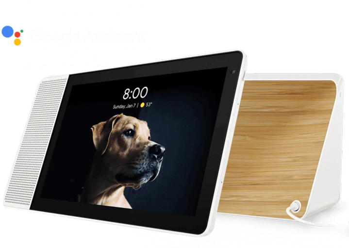 """Lenovo Smart Display 10"""" with the Google Assistant (new) for $99.99 with free shipping at Lenovo.com"""