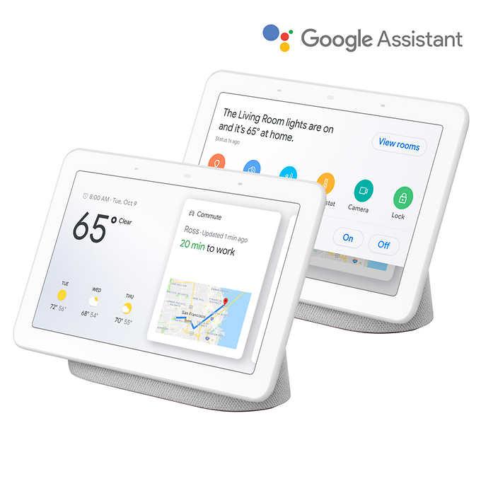 "2x pack - Google Nest Hub 7"" + 2x free Nest Hub Minis (Costco w/ Free Shipping) $139.99"