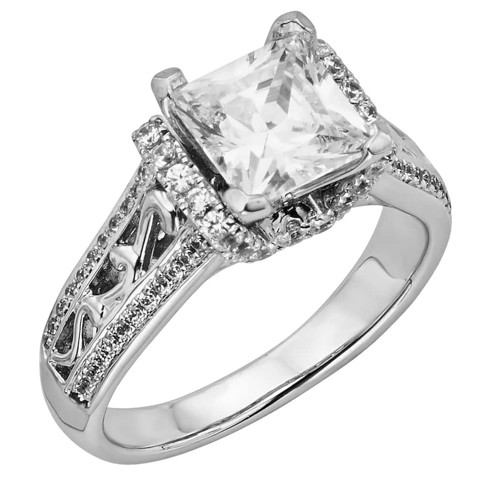 Kohl's B1G1 50% off Princess-Cut IGL Certified Diamond Engagement Ring in 14k White Gold (2 ct. T.W.) + 5% Kohl's Rewards