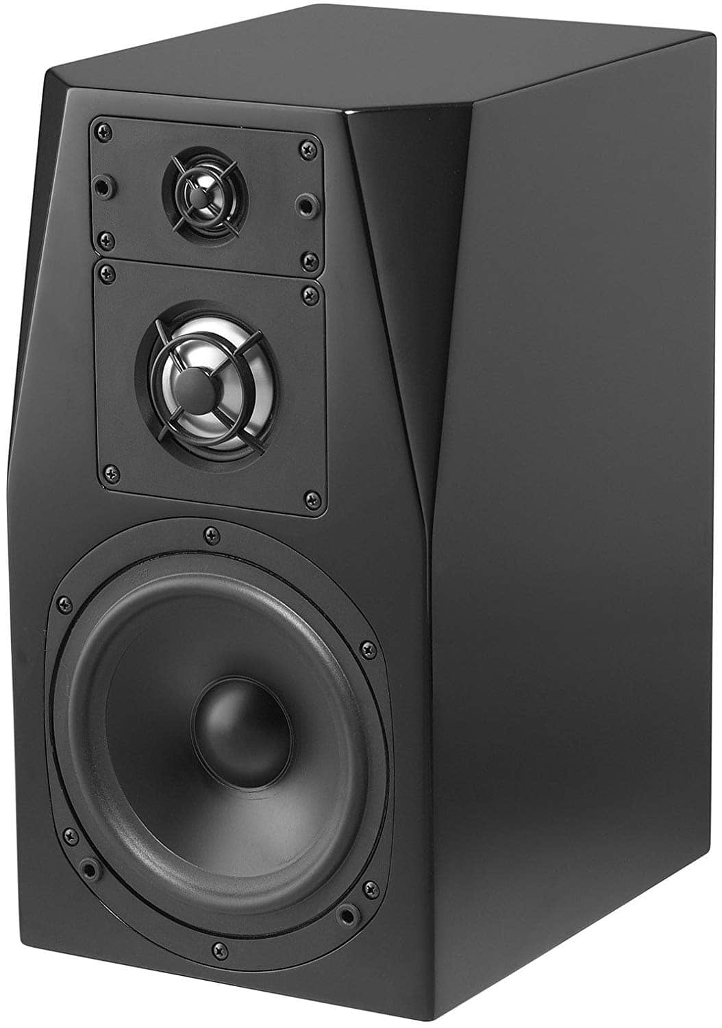 NHT C-3 3 way audiophile bookshelf speaker in gloss black $278.81 each shipped sold by Amazon