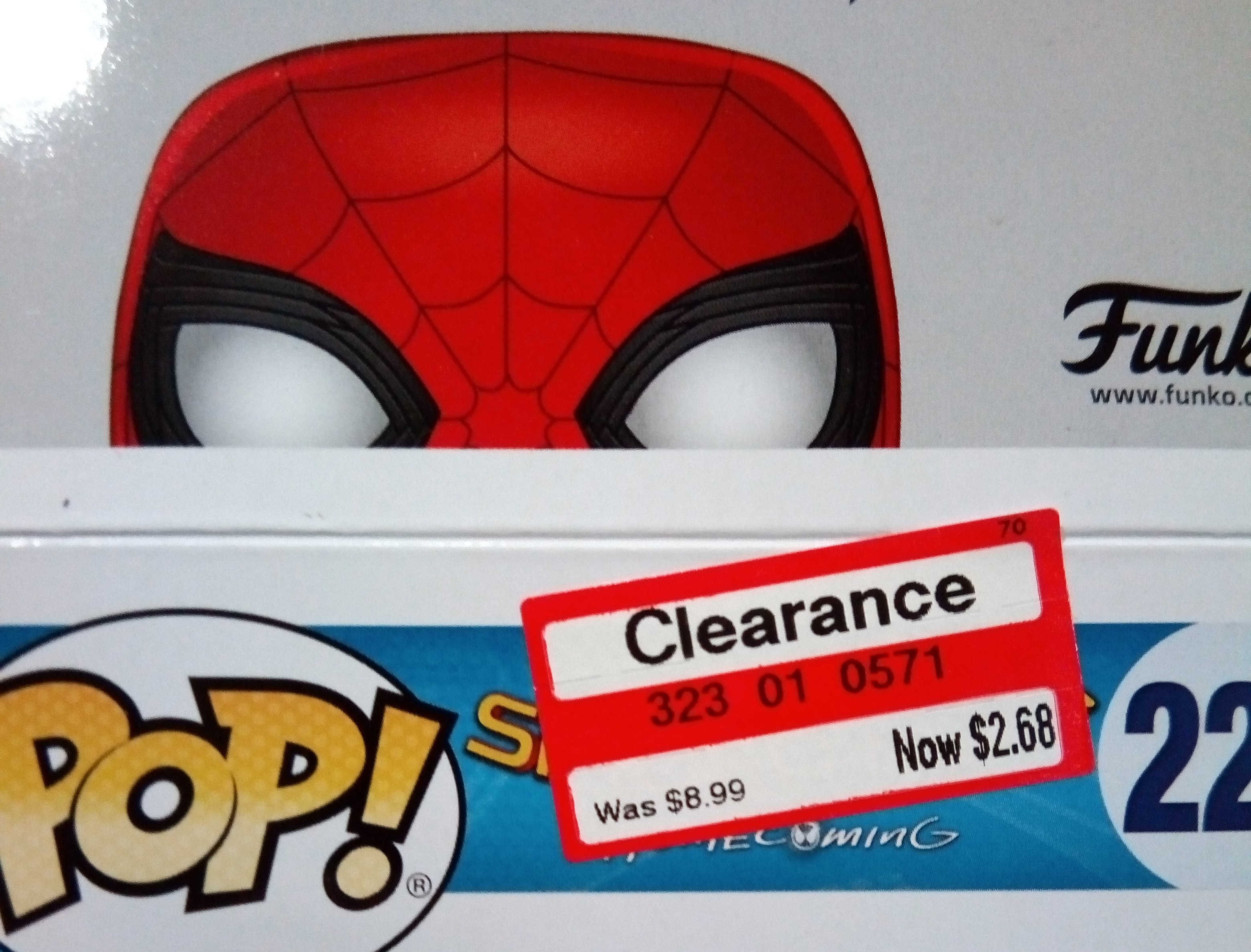 Spider-Man Homecoming Funko Pop! - $2.68 - Target B&M - YMMV
