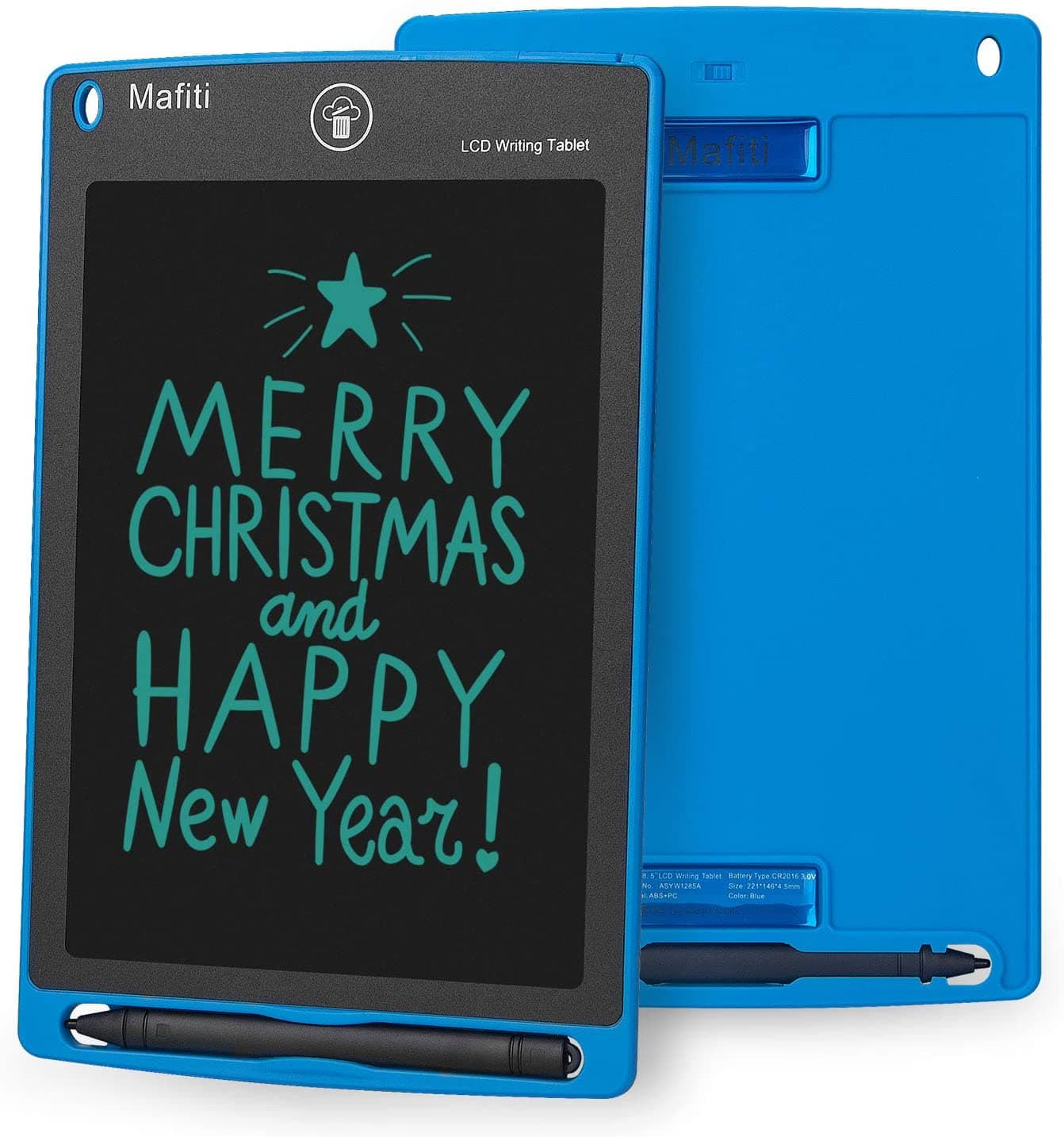 $5.84 AC! 8.5 inch portable LCD Writing Tablet for Kids, Notes, To-Dos, Doodle Board (Blue Only)