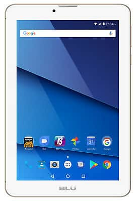 """7"""" Blu 3G Phablet/Tablet/Phone $40 on ebay after double 15% coupons-- Professional Refurb"""