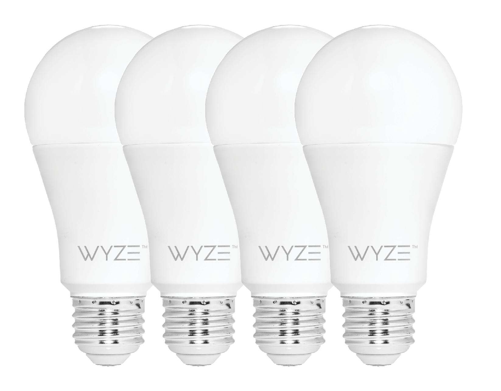 Wyze WiFi Smart Bulbs pk $29.99 (pre-order) +shipping/tax $37.98